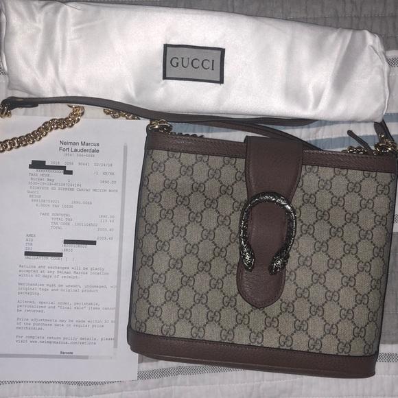4a3137c0c4cd Gucci Bags   Dionysus Medium Bucket Bag Beige   Poshmark